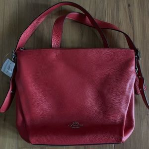 Coach purse Red